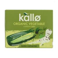 Picture of Kallo Organic Vegetable Stock Cubes 66g
