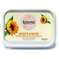 Picture of Biona Organic Sunflower Vegetable Margarine 500g