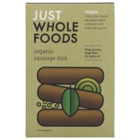 Picture of Just Wholefoods Vegetarian Banger Mix (125g)