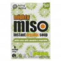 Picture of King Soba organic Miso Soup Pumpkin & Veg - 60g