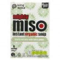 Picture of King Soba organic Miso Soup Tofu & Ginger -  60g (WT059)