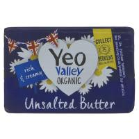 Picture of Yeo Valley Unsalted Organic Butter -  250g