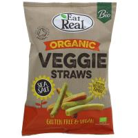 Picture of Eat Real Veggie Straws - Organic -  100g