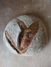Picture of SOURDOUGH Bread - Seedy Wholegrain 400g (certified organic)