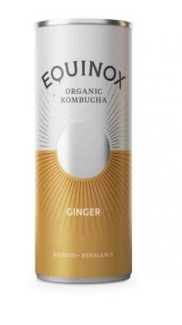Picture of Equinox Kombucha Ginger Can 250ml