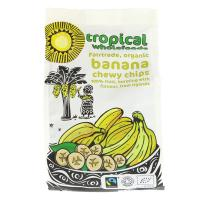 Picture of Tropical Wholefoods Sun Dried Banana Chips - 100g